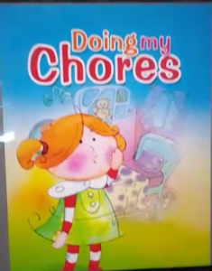10 Doing my chores by the teacher Laura